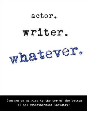 Writer Whatever